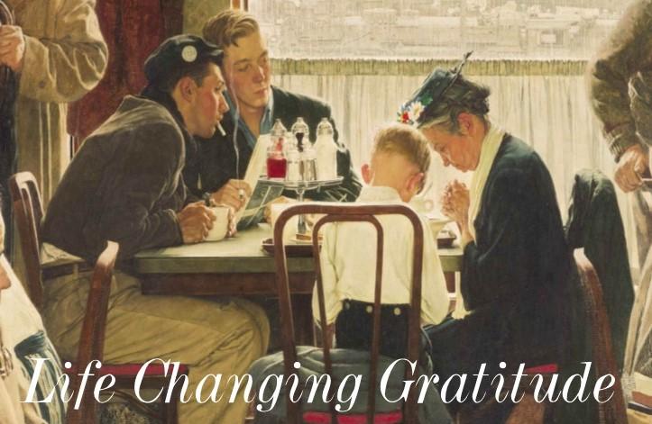 Life Changing Gratitude: The Empty