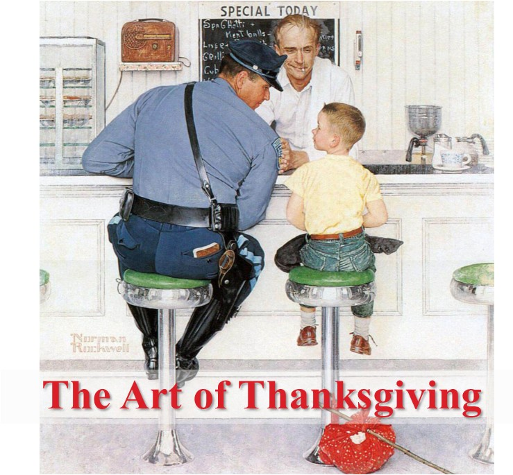 The Art of Thanksgiving: Frame with Generosity